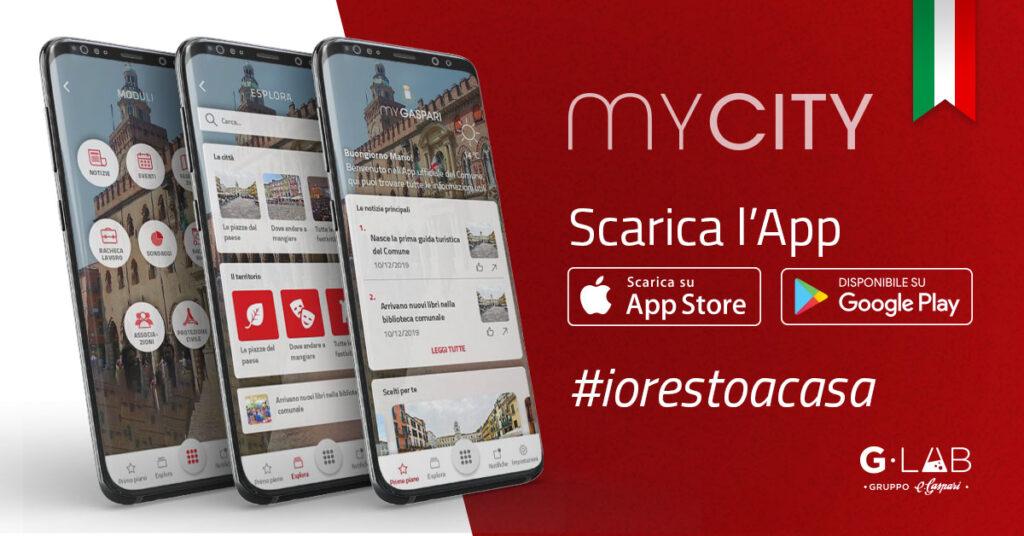 App per allerta sanitaria MyCity