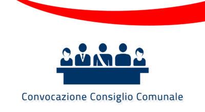 Convocazione del Consiglio Comunale in seduta ordinaria