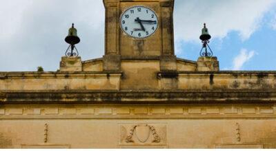 L'Orologio in piazza XX Settembre